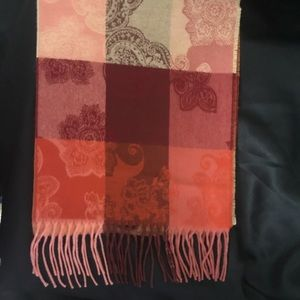 New 100% Cashmere Scarf Made in Scotland